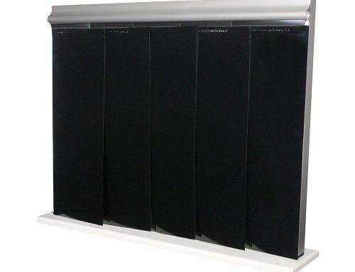 Clean curtain black